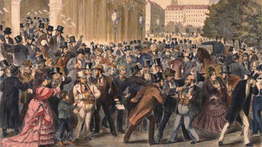 Венская фондовая биржа. Паника 1873